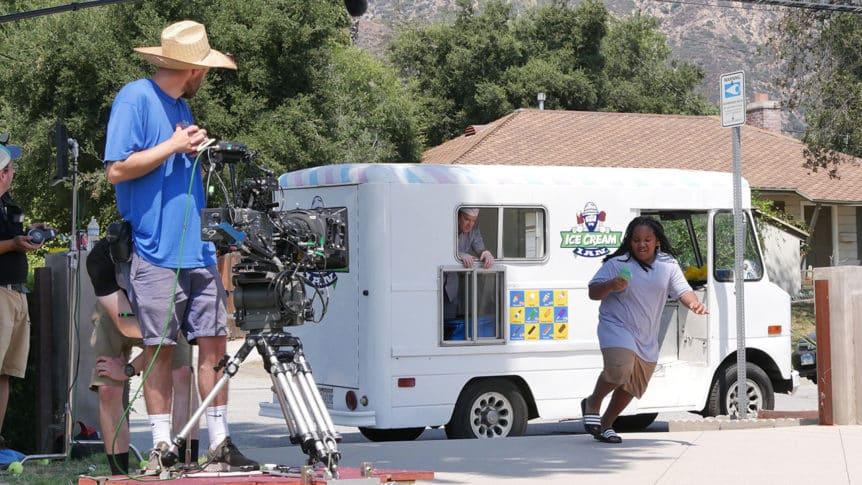 Bruno Runs From Ice Cream Truck